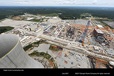 Vogtle 3 and 4 construction site.