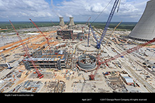 Vogtle 3 and 4 construction site