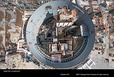 Vogtle Unit 4 containment.