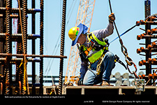 Safe work practices are the first priority for workers at Vogtle 3 and 4.