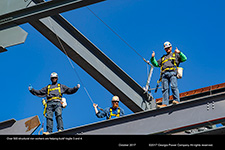 Over 500 structural iron workers are helping build Vogtle 3 and 4.