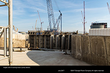 Vogtle Unit 3 cooling tower pump station.