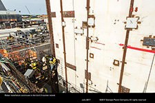 Rebar installation continues in the Unit 3 nuclear island.