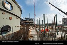 Vogtle Unit 4 annex building construction.