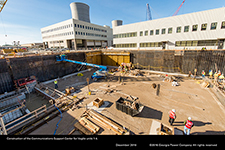Construction of the Communications Support Center for Vogtle units 1-4.