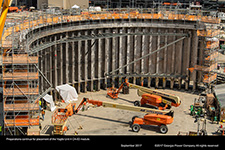 Preparations continue for placement of the Vogtle Unit 4 CA-03 module.