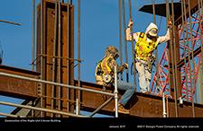 Construction of the Vogtle Unit 3 Annex Building.