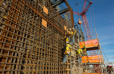 Construction of the Vogtle Unit 3 Annex Building.