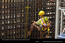 More than 25,000 tons of rebar will be used to construct Vogtle units 3 and 4.