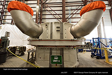 Vogtle Unit 4 integrated head package.