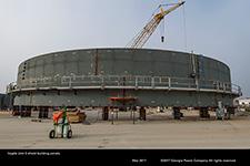 Unit 3 shield building panels.