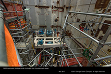 Q233 mechanical module inside the Vogtle Unit 3 containment vessel.