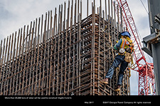More than 25,000 tons of rebar will be used to construct Vogtle 3 and 4.