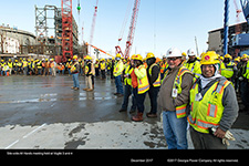 Site-wide All Hands meeting held at Vogtle 3 and 4.