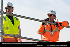 Vogtle 3&4 Executive Vice President Mark Rauckhorst and Bechtel Project Director Ty Troutman