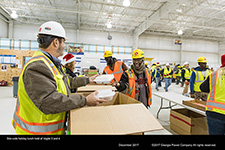 Site-wide holiday lunch held at Vogtle 3 and 4.