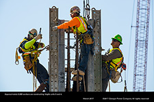 Approximately 6,000 workers are constructing Vogtle units 3 and 4.
