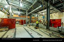 Unit 3 Annex Building Battery Room construction